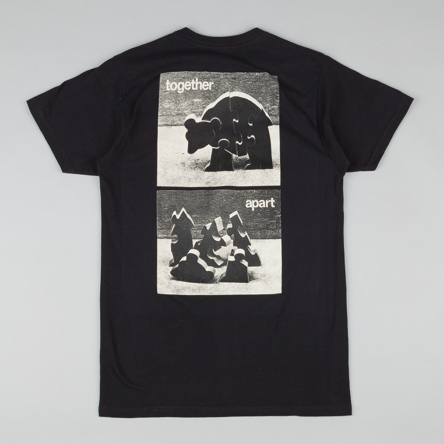 Isle Push Pull Together Apart T-Shirt - Black