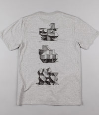 Isle x Carhartt Modular T-Shirt - Grey Heather
