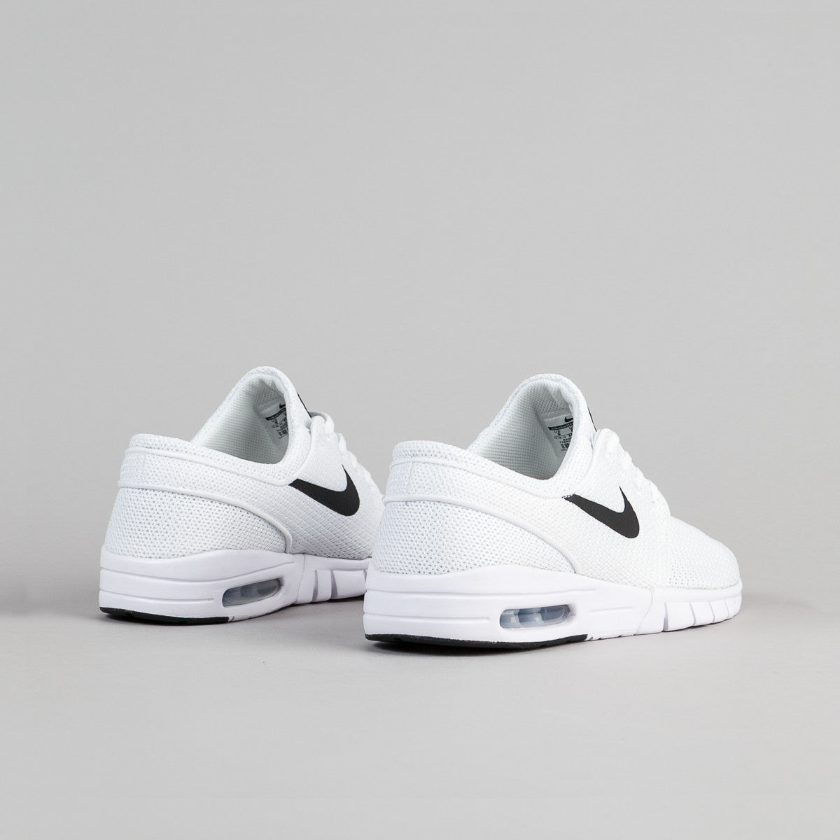 Nike SB Stefan Janoski Max Shoes - White / Black