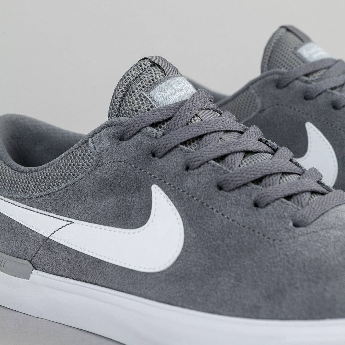 Nike SB Koston Hypervulc Shoes - Cool Grey / White - Wolf Grey