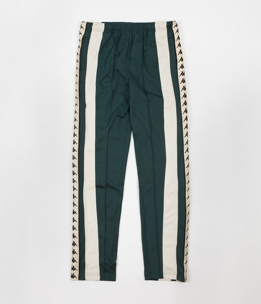 Kappa Kontroll Banda Sweatpants - Dark Green / Light Beige