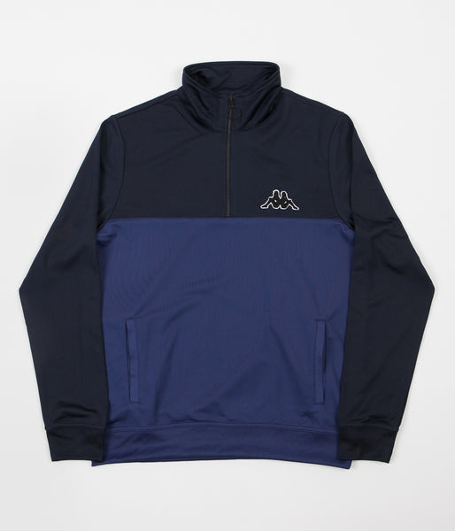 Kappa Kontroll Half Zip Jacket - Night Blue / Navy Blue