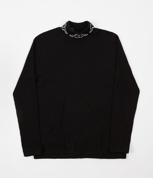 Kappa Kontroll Turtleneck Long Sleeve T-Shirt - Black