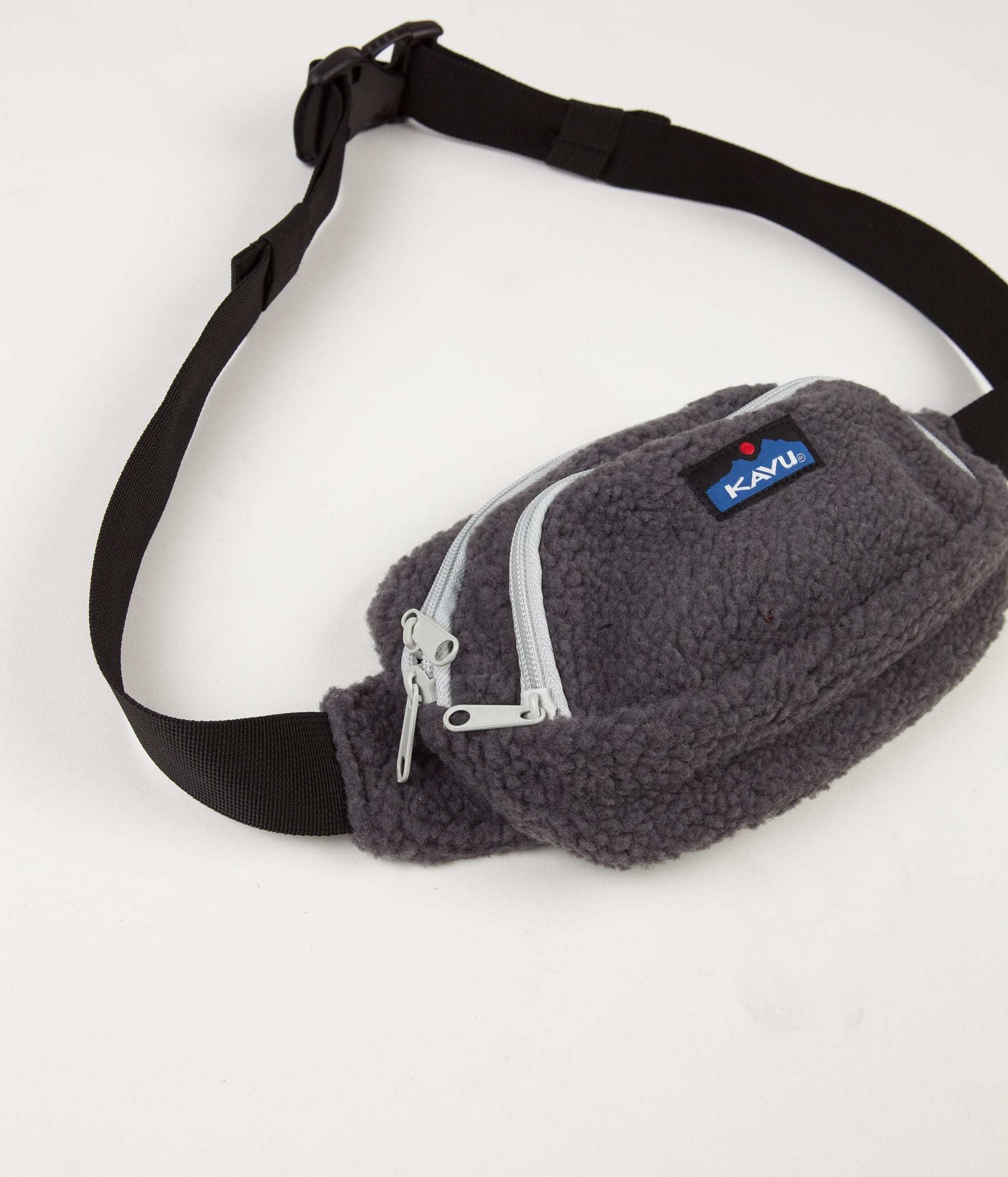 Kavu Fleece Spectator Hip Bag - Charcoal