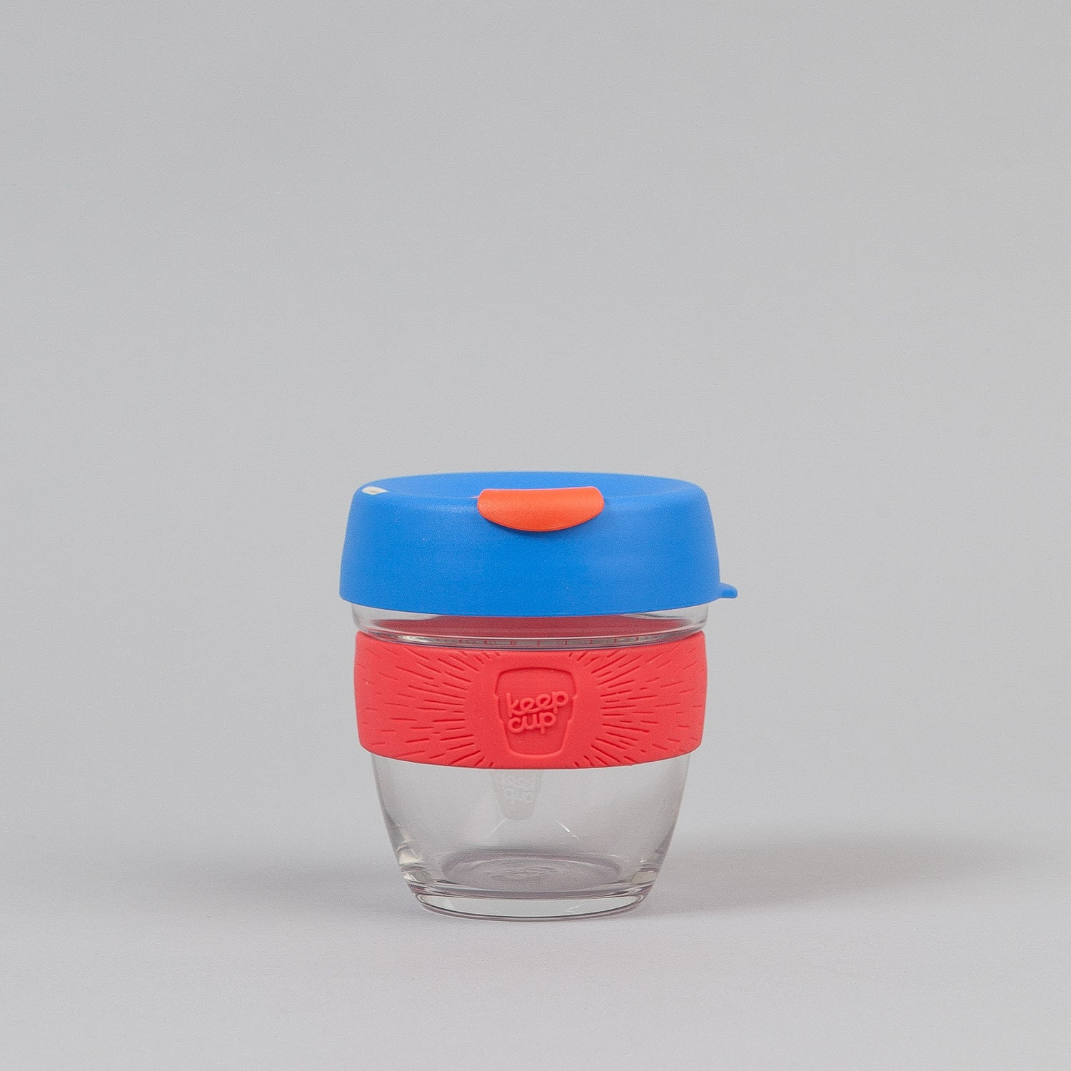 KeepCup Elixir 8oz Small Glass Coffee Cup - New Blue