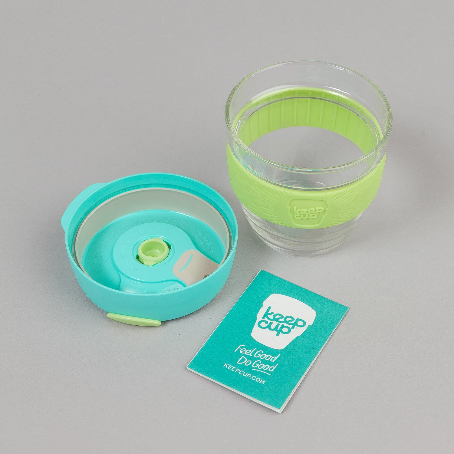 KeepCup Magic 8oz Small Glass Coffee Cup - Mint