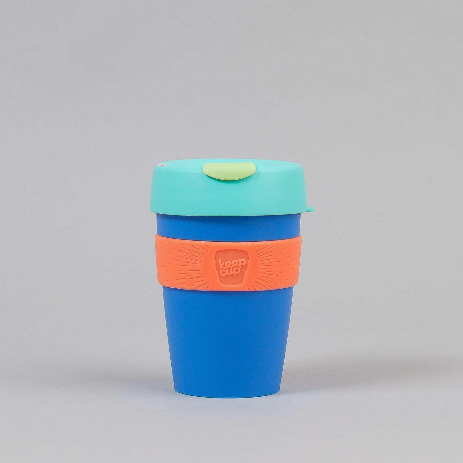 KeepCup Melchior 12oz Medium Reusable Coffee Cup - New Blue / Mint