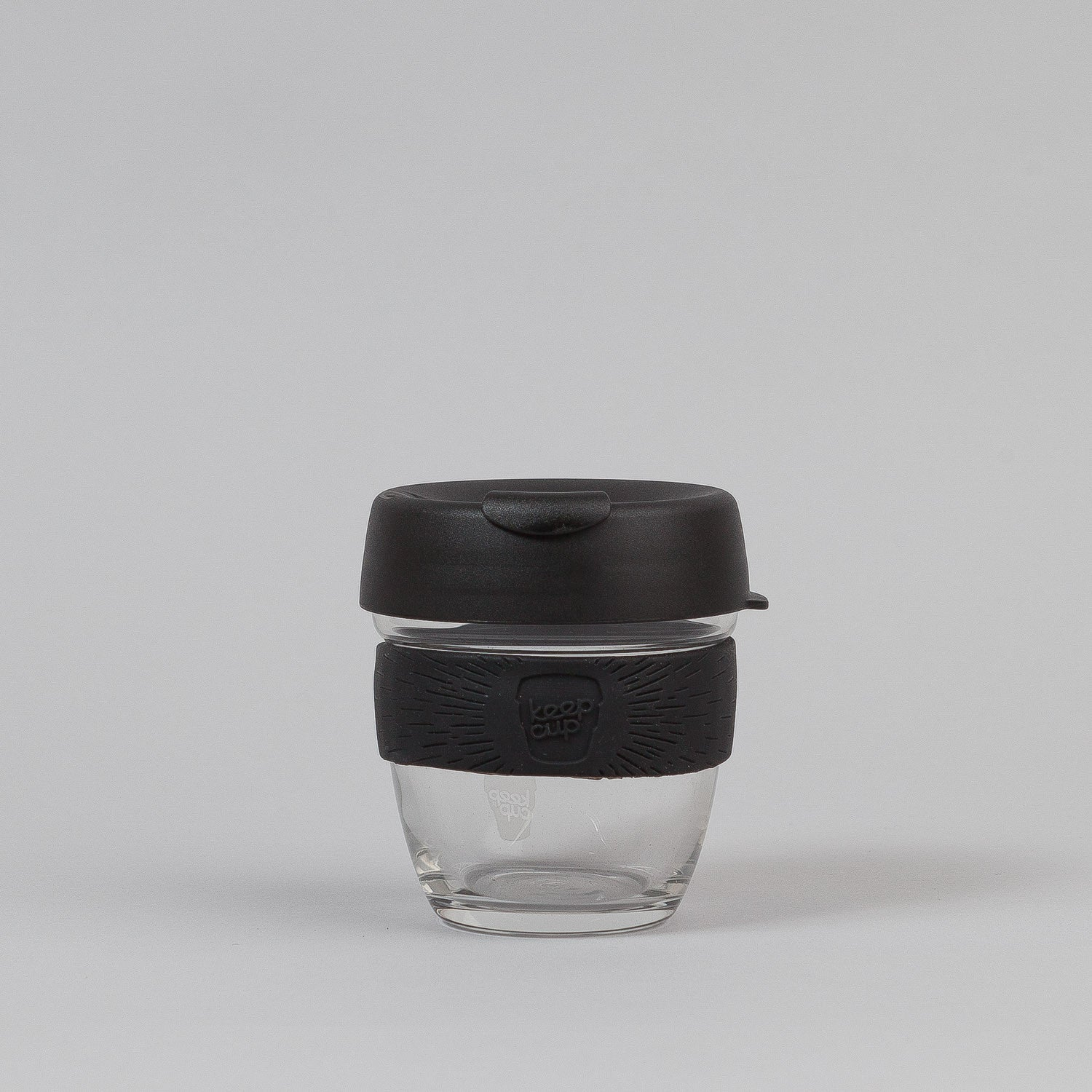 KeepCup Metal 8oz Small Glass Coffee Cup - Black