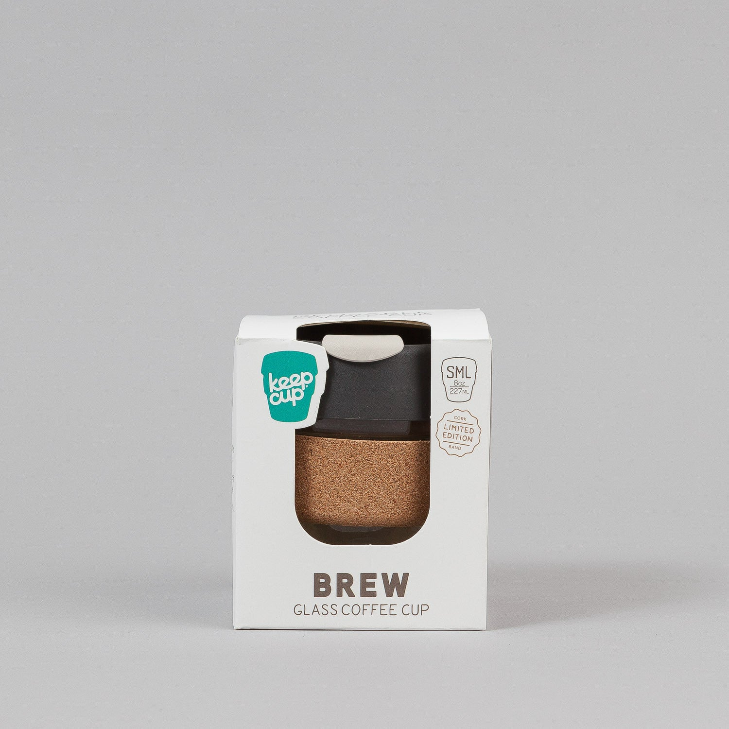 KeepCup Press 8oz Small Glass Coffee Cup