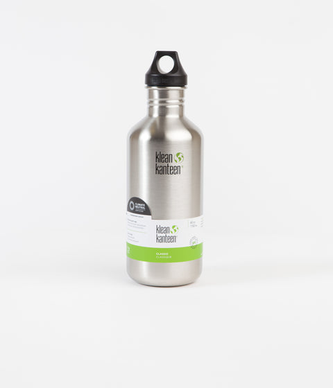 Klean Kanteen Classic 1182ml Flask - Brushed Stainless