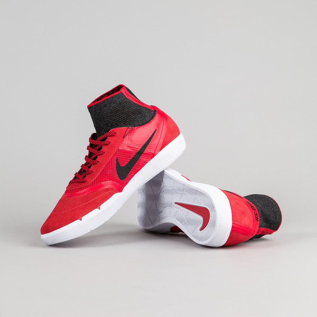 Nike SB Hyperfeel Koston 3 Shoes - University Red / Black - White