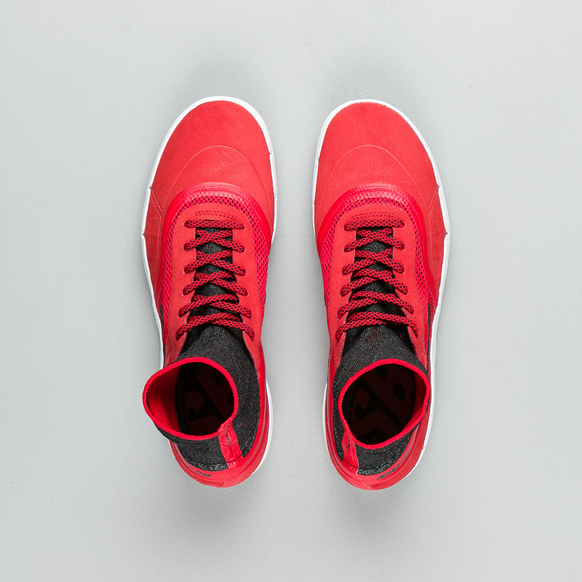 Nike SB Koston 3 Hyperfeel Shoes - University Red / Black - White
