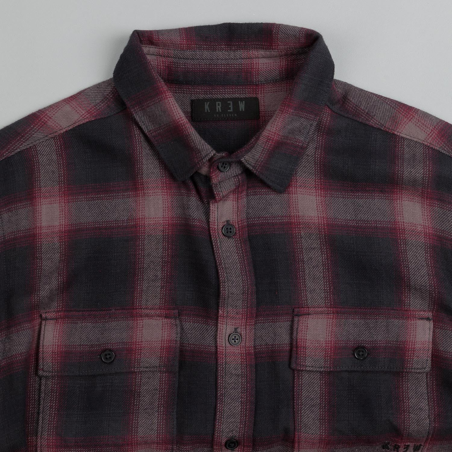 Kr3w Ambush Shirt Black Plaid