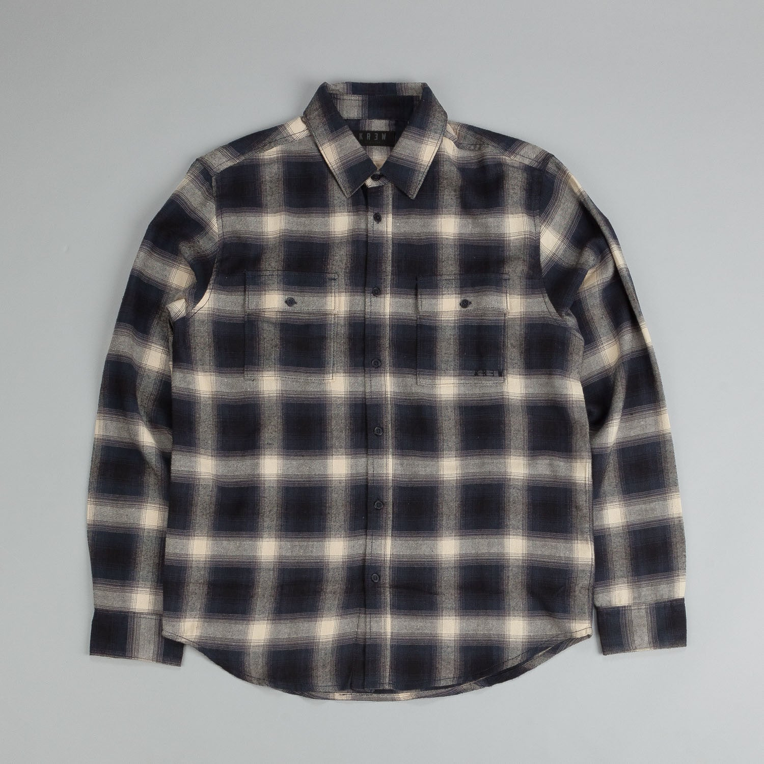 Kr3w Ambush Shirt Midnight Plaid