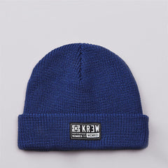 Kr3w Cuff Beanie Royal Blue