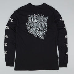 Kr3w Fenris Long Sleeve T-Shirt - Black