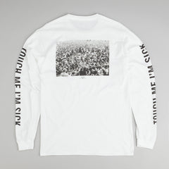 Kr3w Touch Me I'm Sick L/S T-Shirt - White