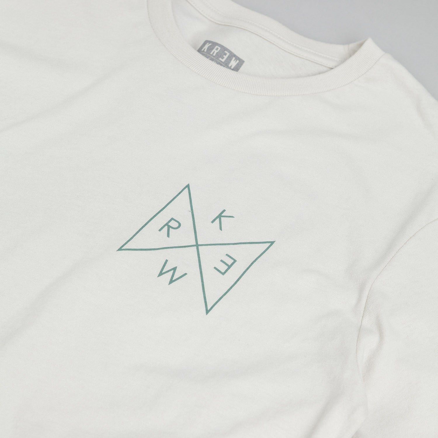 Kr3w Triad T-Shirt - Off White