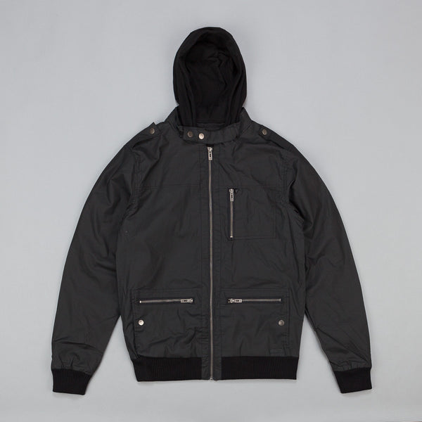 Kr3w Wallace Wax Coated Bomber Jacket