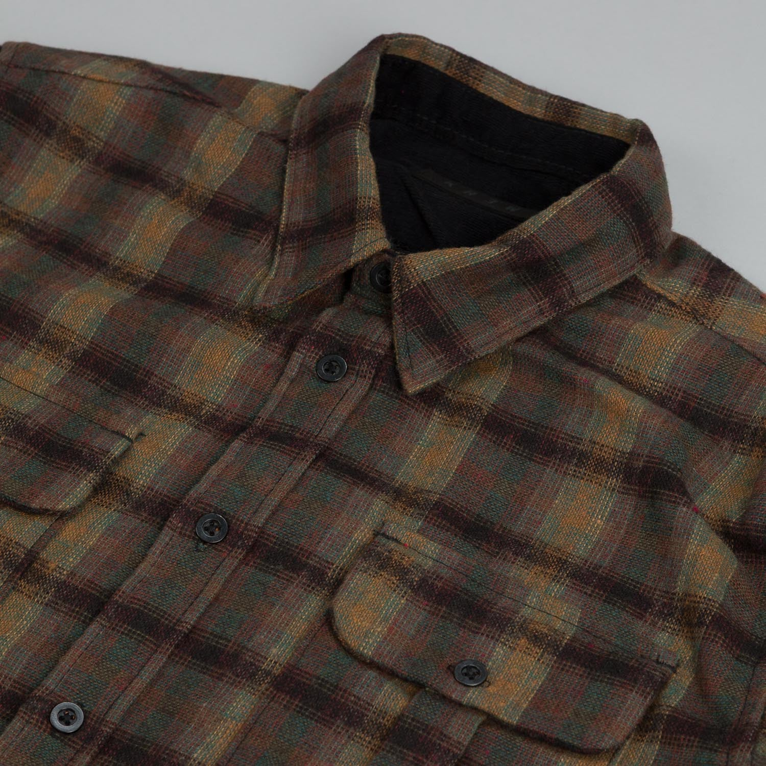 Kr3w Warhunt Shirt Black Plaid