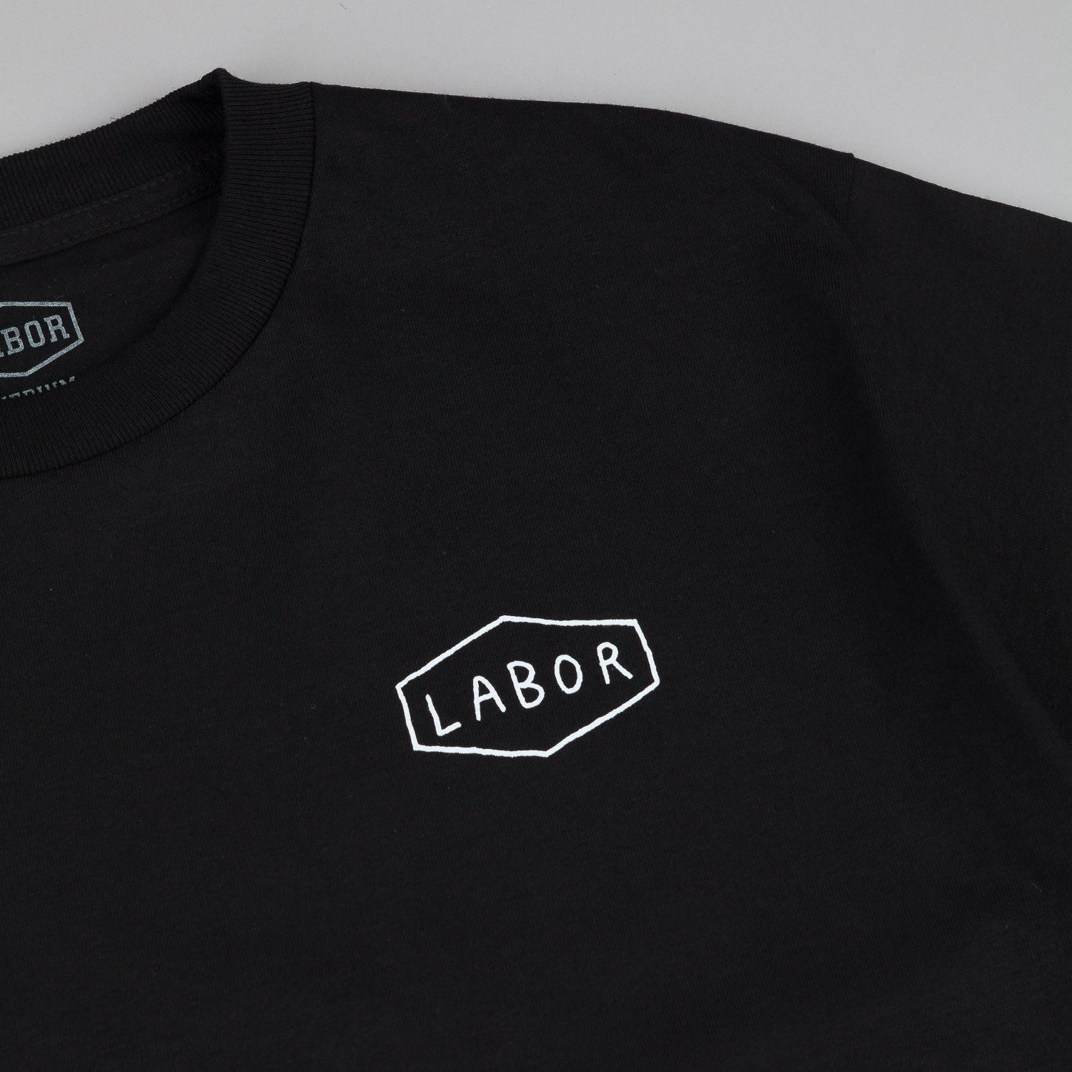 Labor Drawn Logo T-Shirt - Black