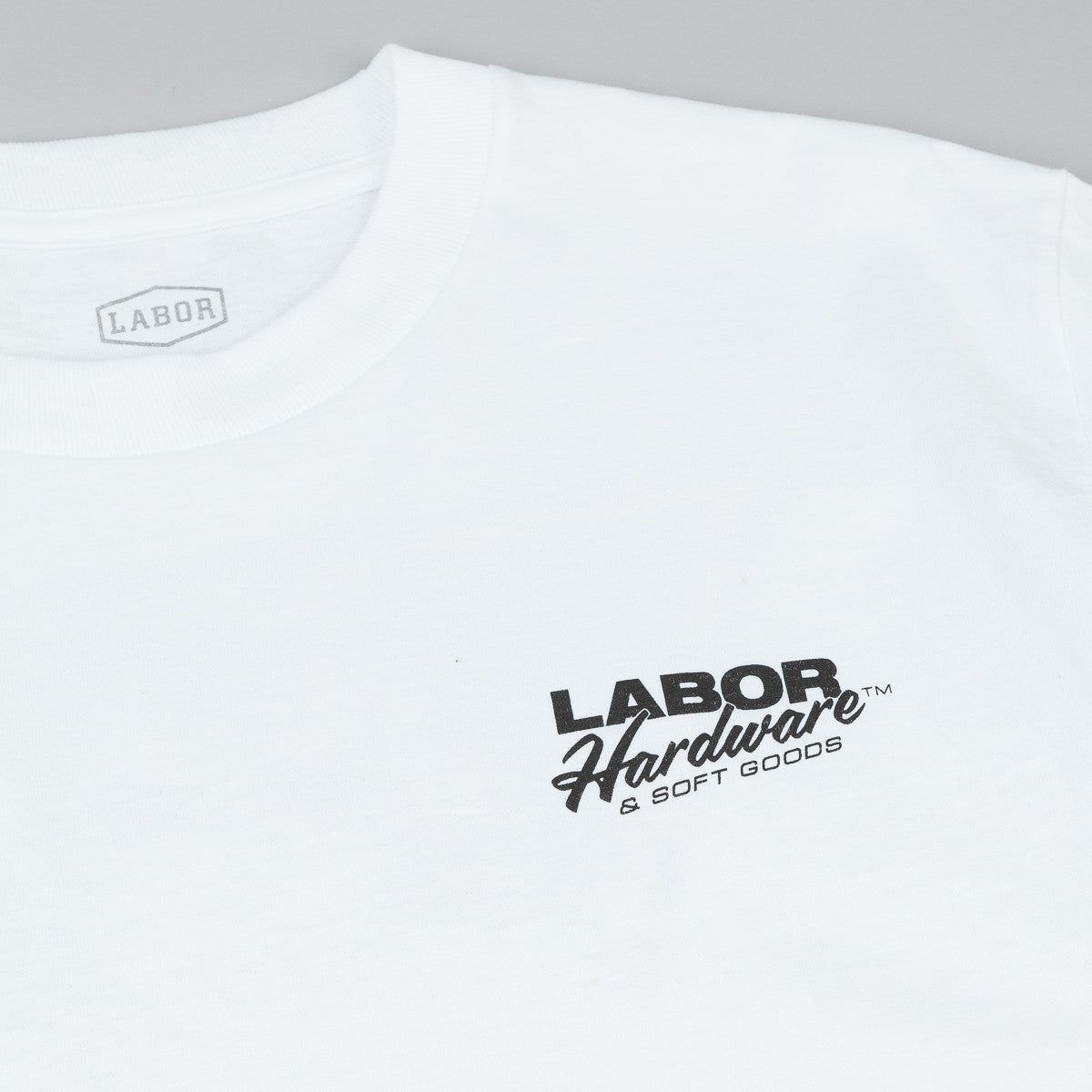 Labor Hardware & Softgoods T-Shirt - White