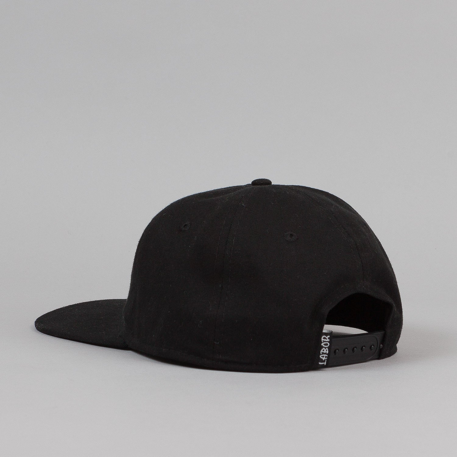 Labor Unstructured 6 Panel Cap - Black