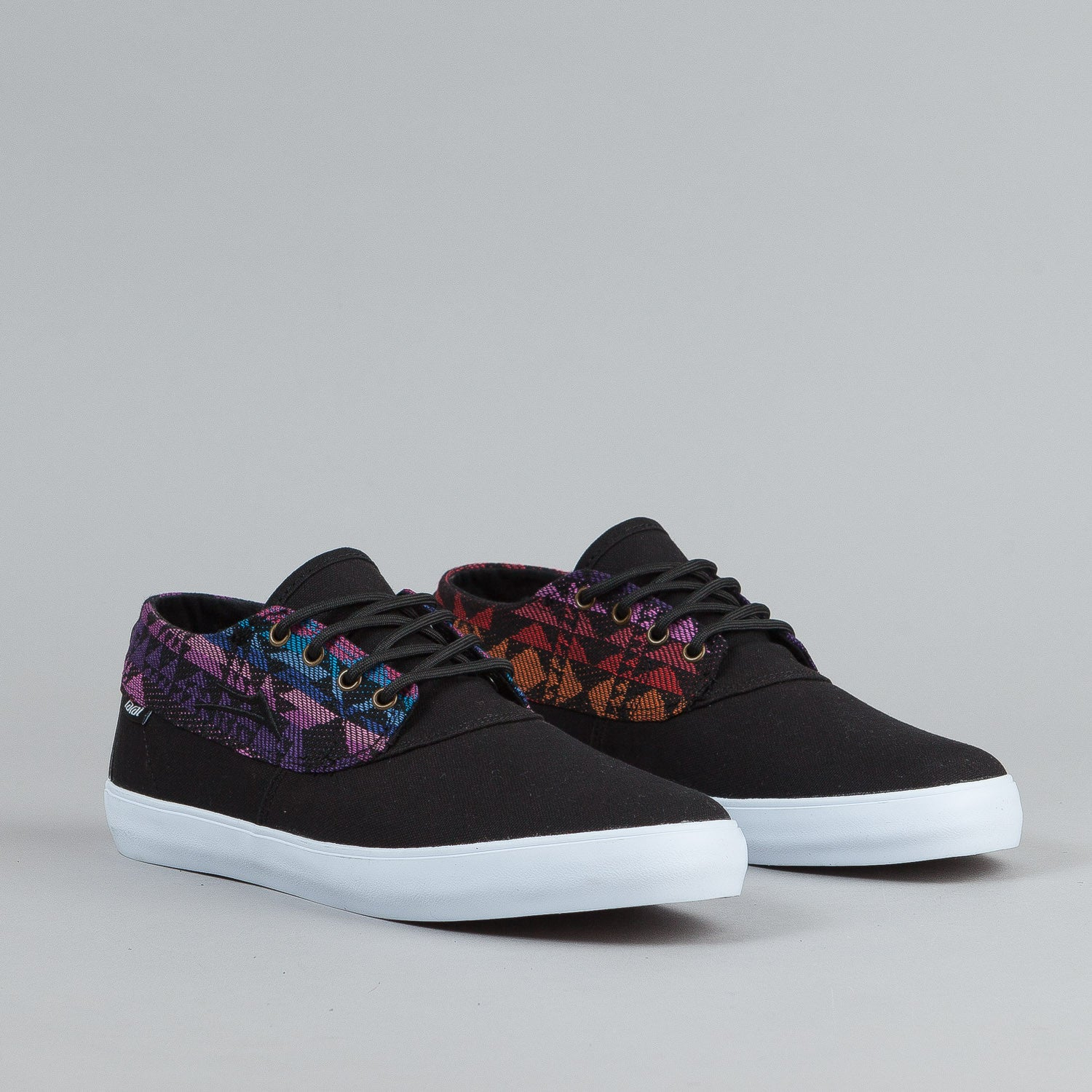 Lakai Camby Mid Shoes - Black / Textile