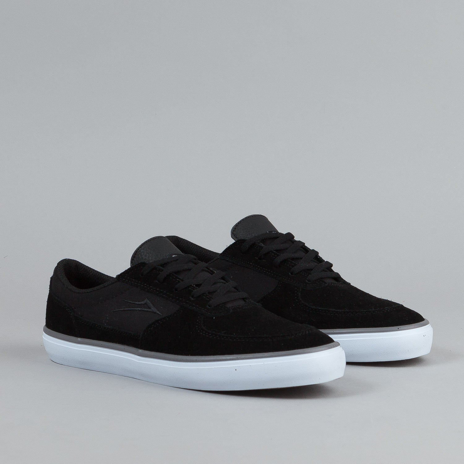 Lakai Parker Shoes - Black Suede