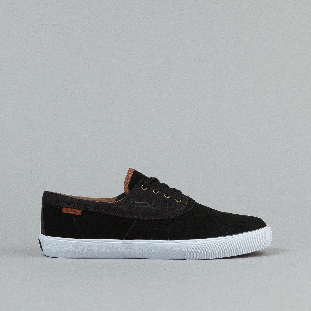 Lakai Anchor Camby Nesser Shoes Black Suede