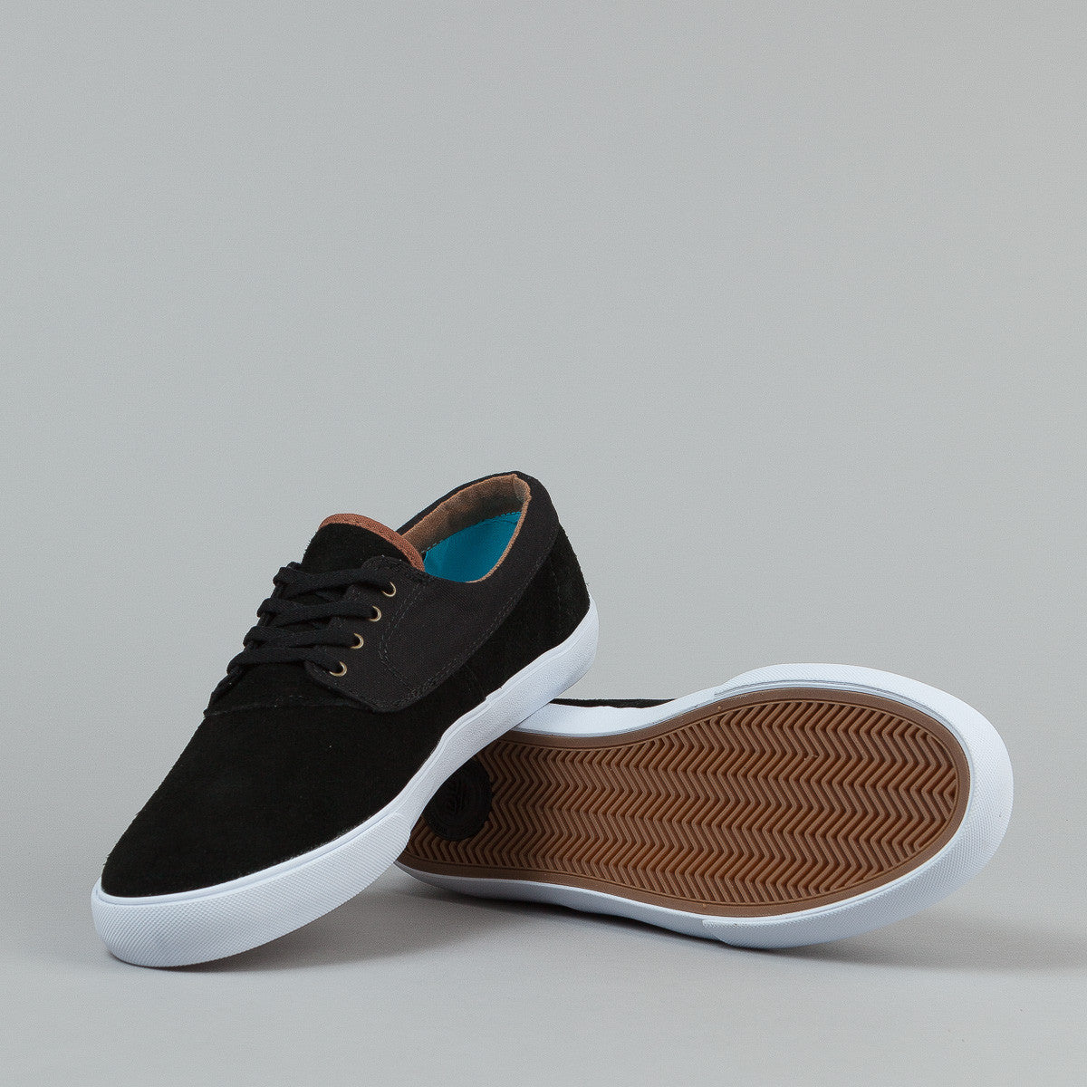 Lakai Anchor Camby Nesser Shoes - Black Suede