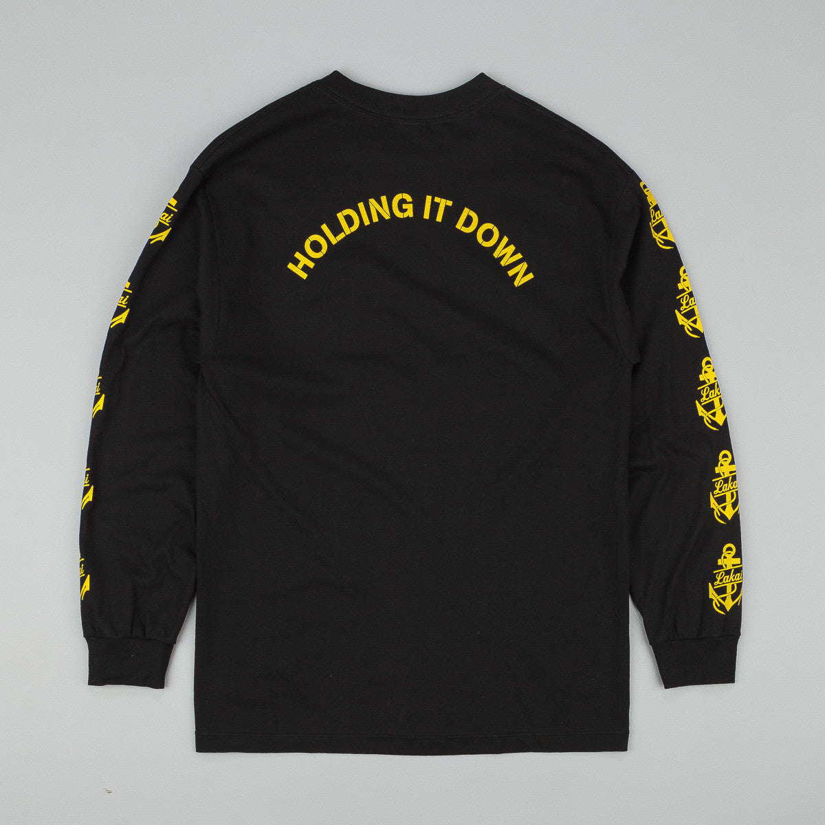 Lakai Branch Long Sleeve T-Shirt - Black
