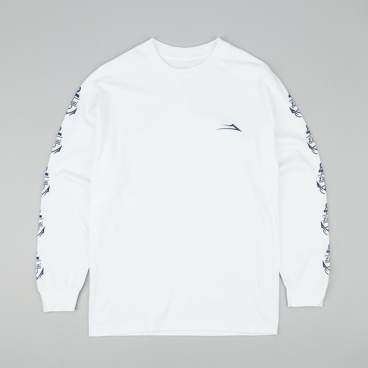 Lakai Branch L/S T-Shirt - White