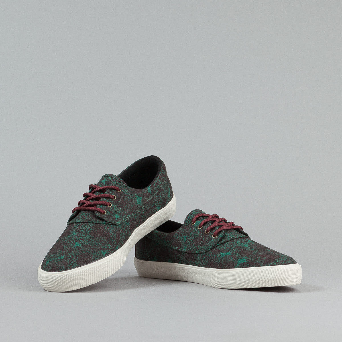 Lakai Camby Jenkins Echelon Shoes - Port Canvas