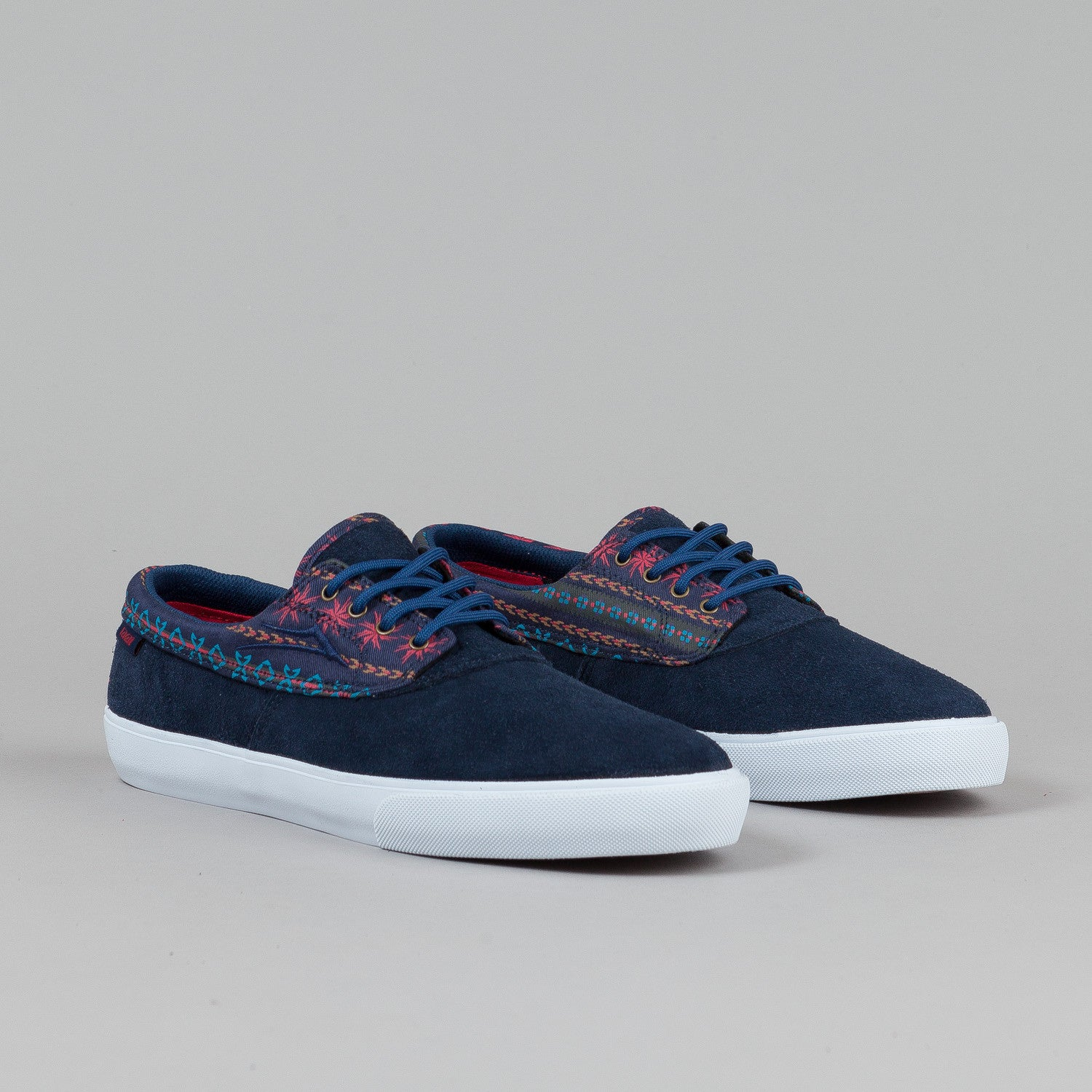 Lakai Camby Echelon Shoes Navy Suede