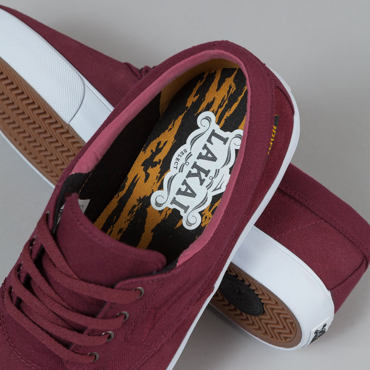 Lakai Camby Shoes - Oxblood