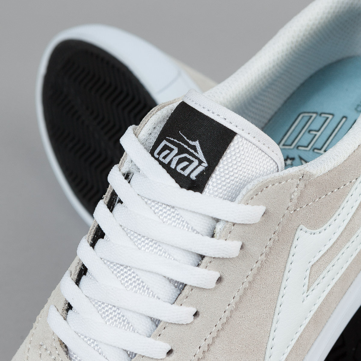 Lakai Chalk Pack Manchester Shoes - White