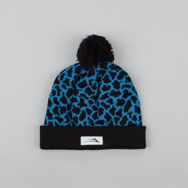 Lakai Crackle Pom Pom Beanie Blue / Black
