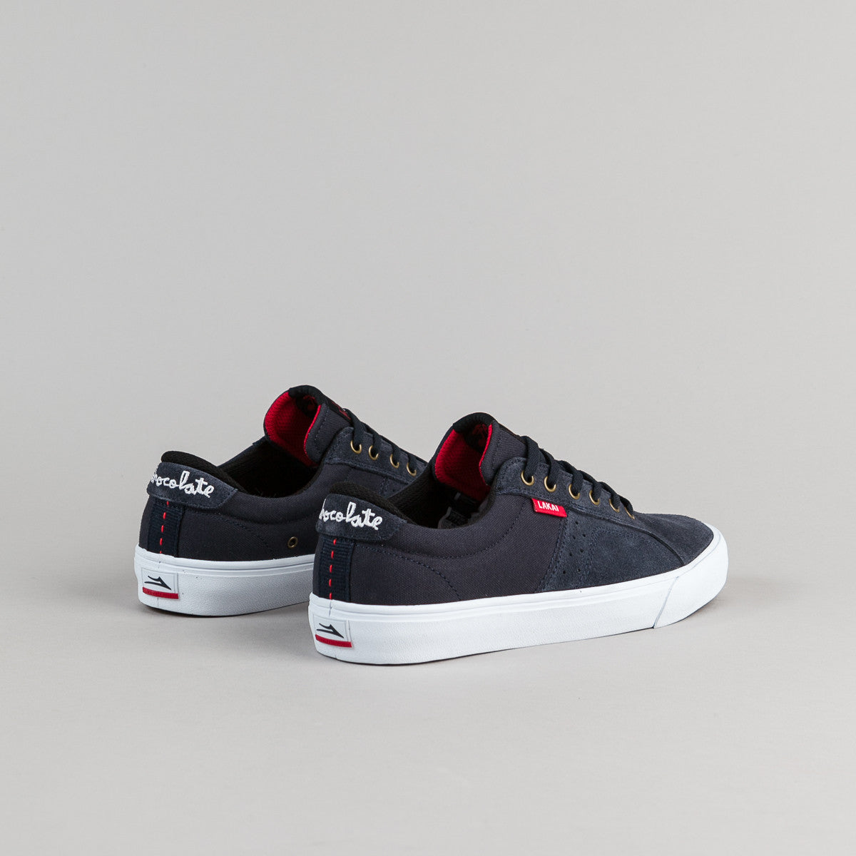 Lakai Flaco Suede Shoes - Midnight