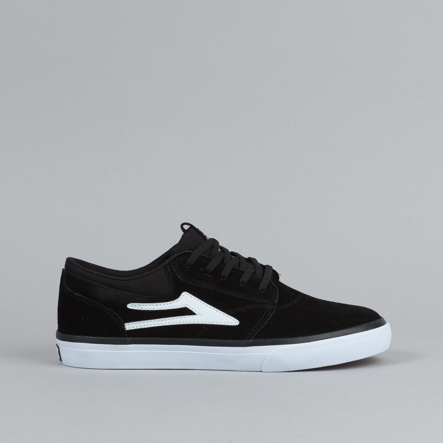 Lakai Griffin Black / White Suede