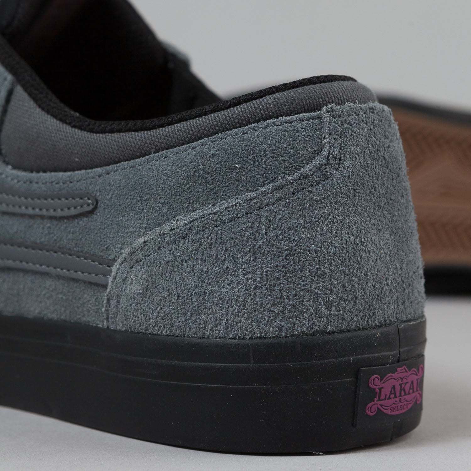 Lakai Griffin Grey / Black Suede