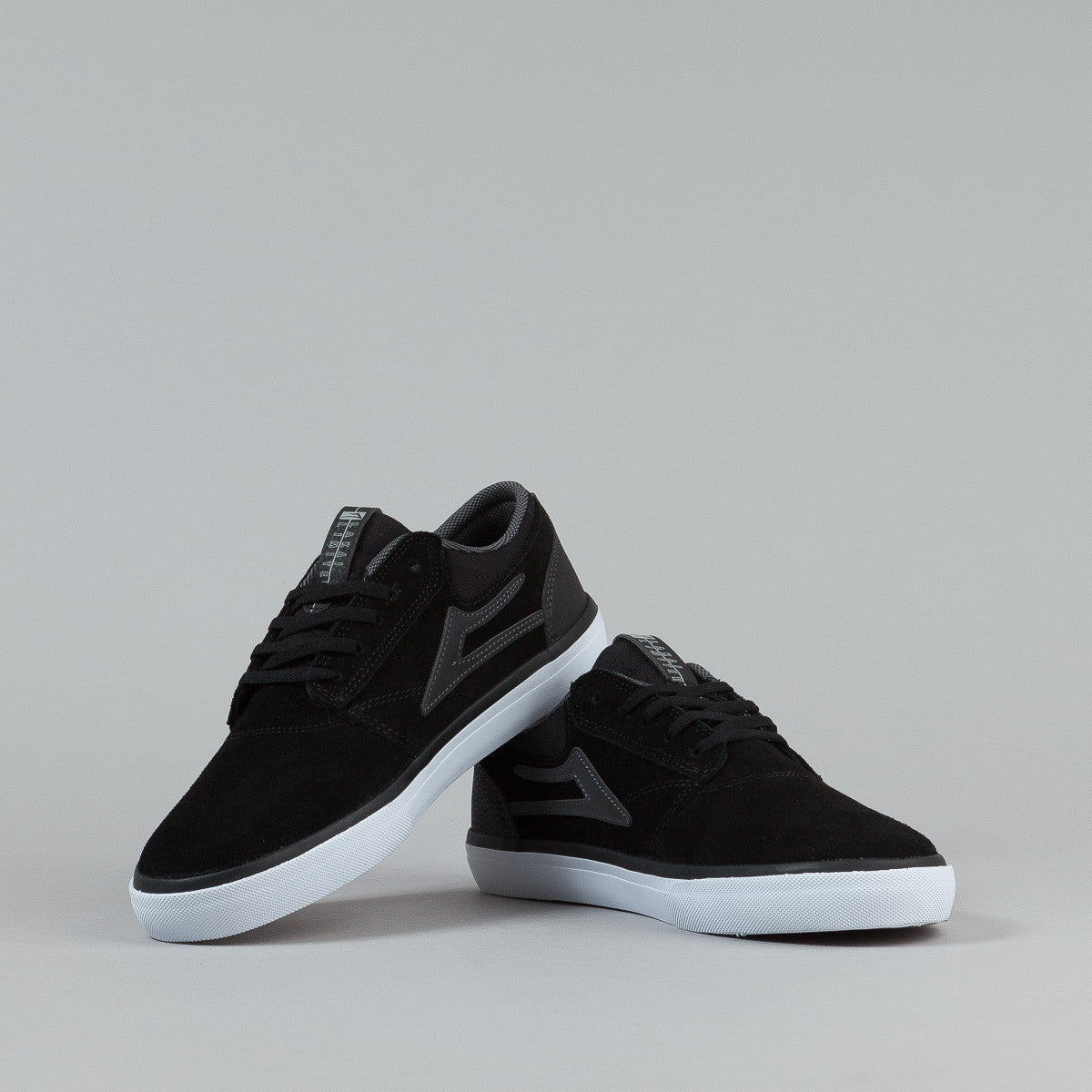 Lakai Griffin Shoes - Black / Reflective