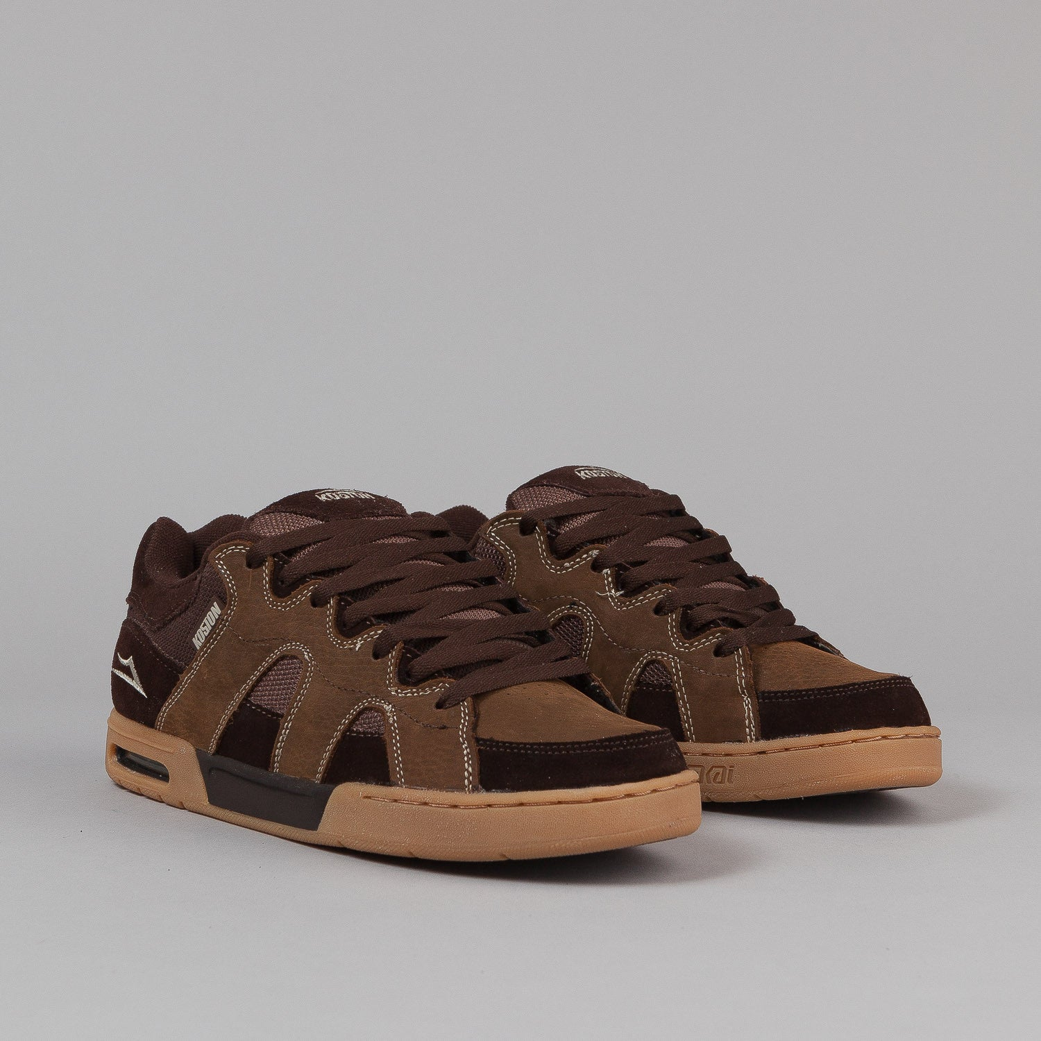 Lakai Koston Shoes - Brown / Gum