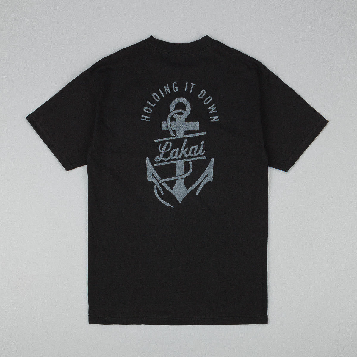 Lakai Paint T-Shirt - Black