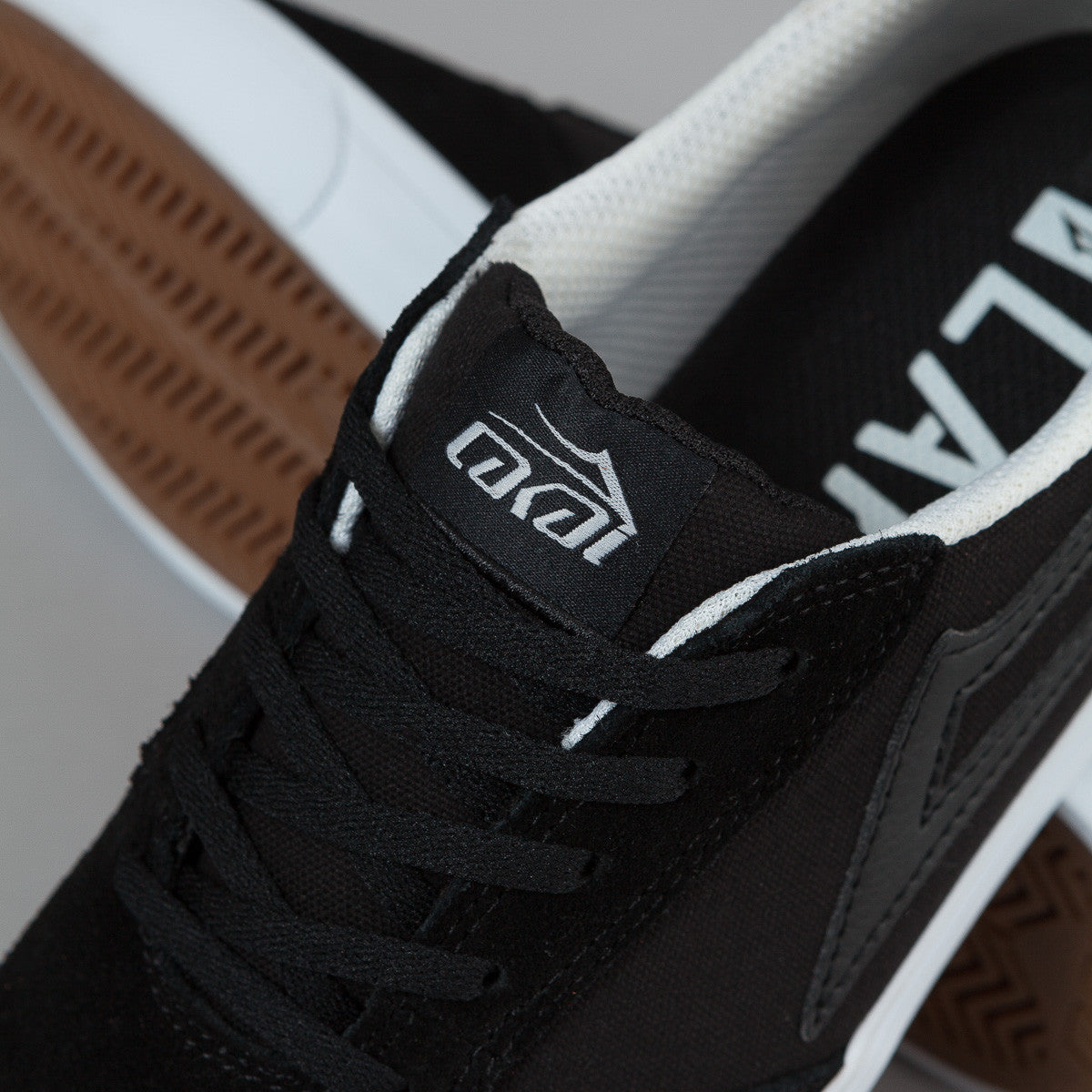 Lakai Pico Shoes - Black / White