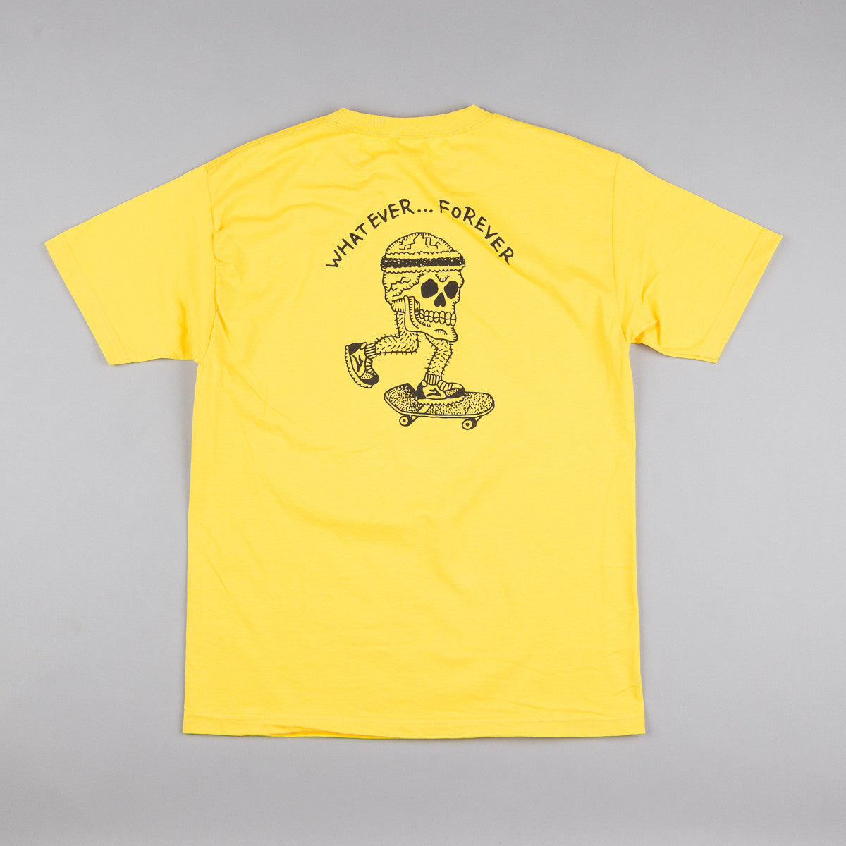 Lakai Skull T-Shirt - Yellow