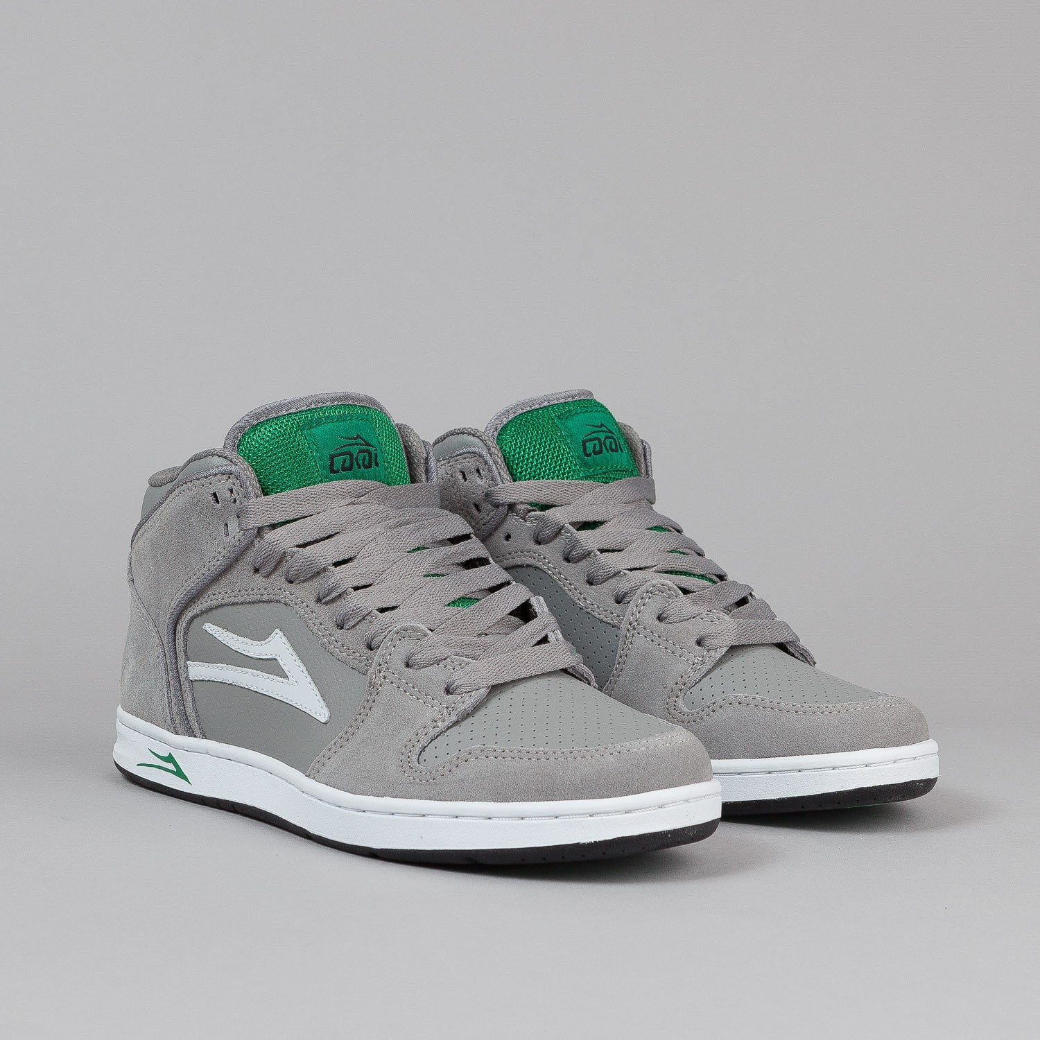 Lakai Telford Shoes - Grey Suede