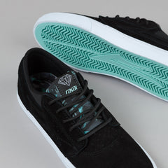 Lakai X Diamond Griffin Shoes Black Suede