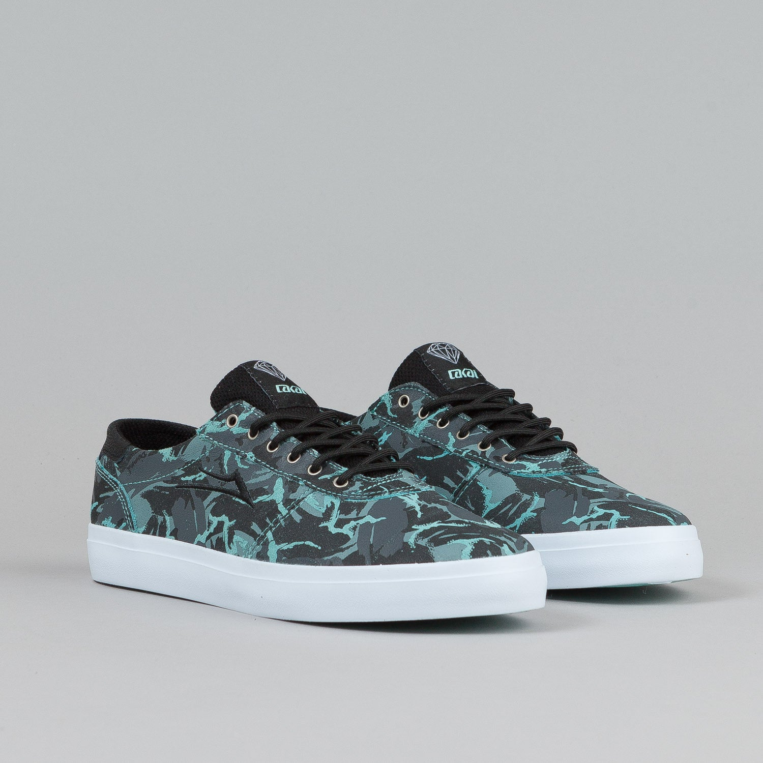 Lakai X Diamond Manchester Lean Shoes Simplicity Suede