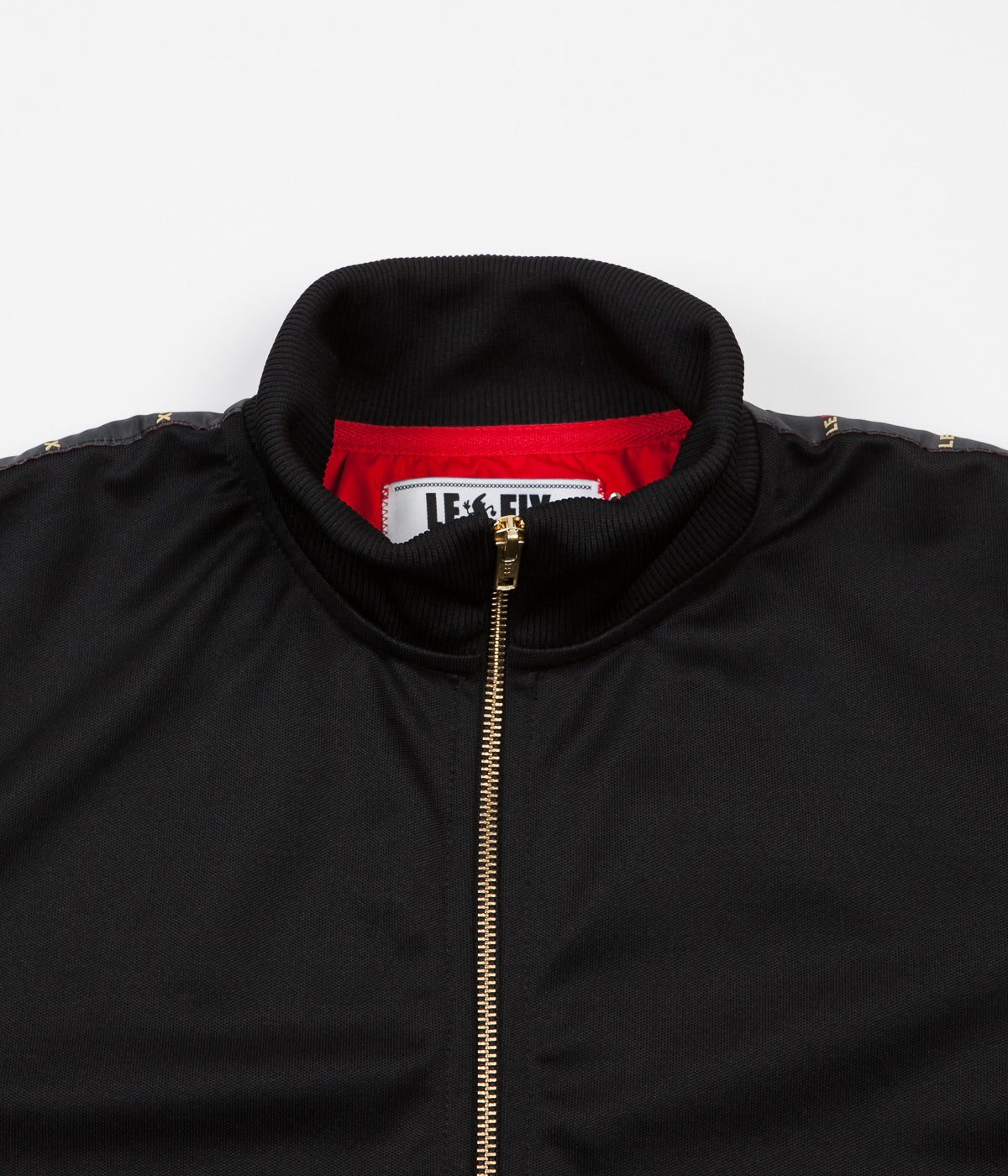 Le Fix LF Tape Tracksuit Jacket - Black